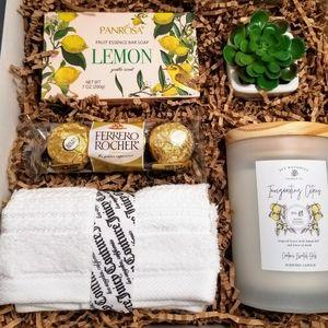 Vitalizing Citrus Tea Day Spa Gift Box